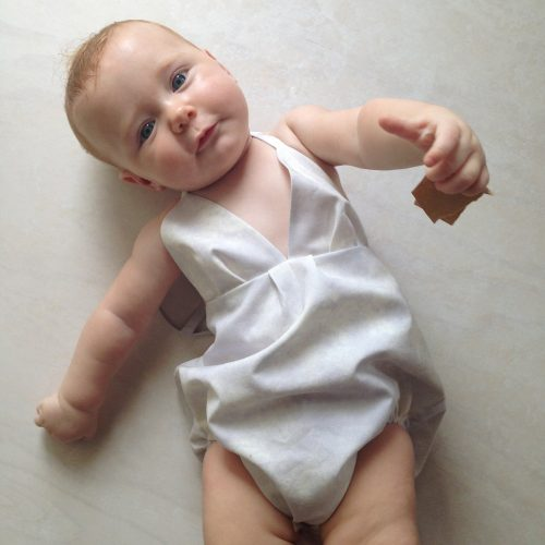 Heavenly Halter onesie girls playsuit sunsuit overalls