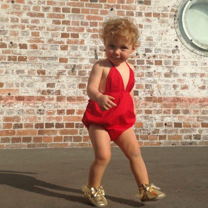 baby girls christmas xmas suit onesie dress