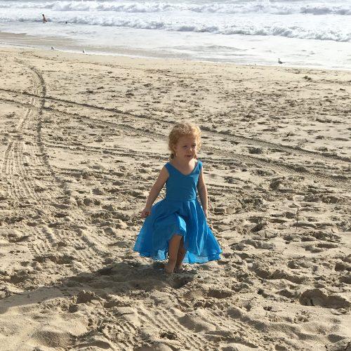 beach chiffon party dress ballet costume