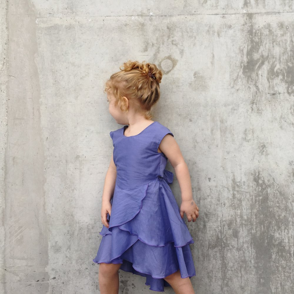 pure cute tie back flamenco dress