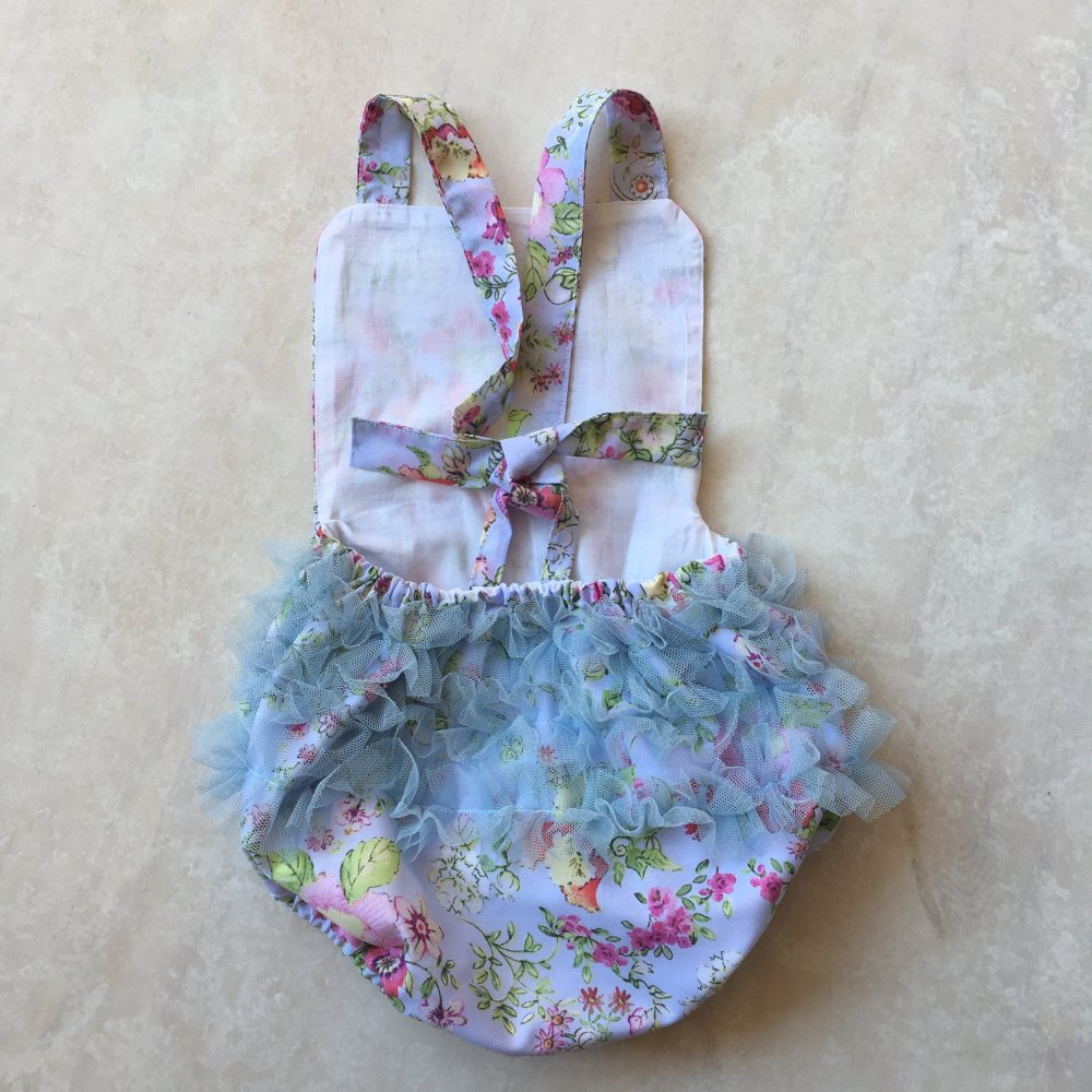 baby girls ruffle playsuit rompers