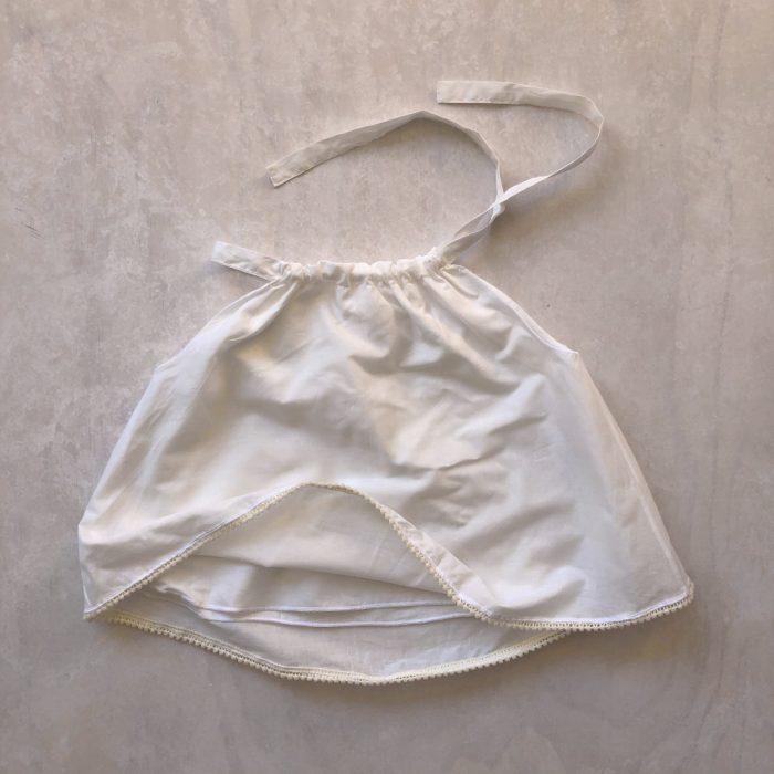 white singlet top