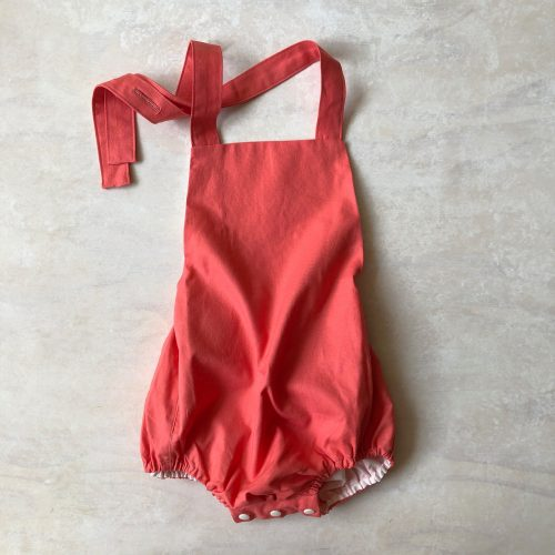 strappy baby rompers