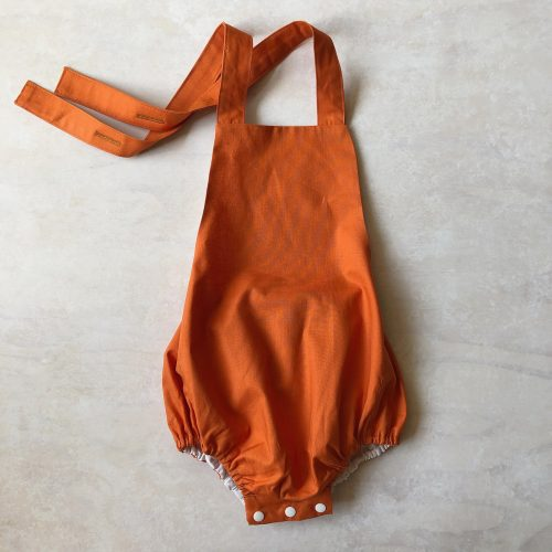 strappy rompers coral