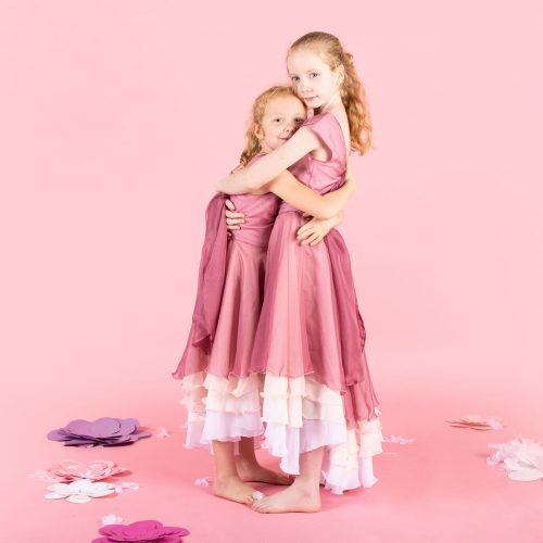 Pure Cute Pink Ombré Dress